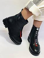 Evromoda Турция зимние ботинки на натуральном меху из натуральной кожи.  Р 37.38.40., фото 3