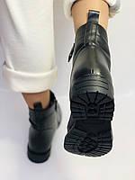 Evromoda Турция зимние ботинки на натуральном меху из натуральной кожи.  Р 37.38.40., фото 9