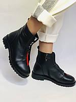 Evromoda Турция зимние ботинки на натуральном меху из натуральной кожи.  Р 37.38.40., фото 6