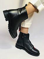 Evromoda Турция зимние ботинки на натуральном меху из натуральной кожи.  Р 37.38.40., фото 4