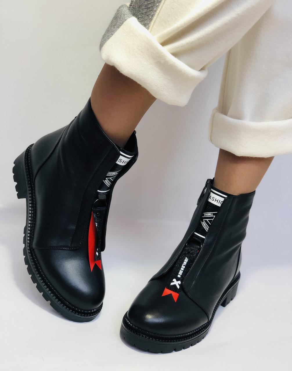Evromoda Турция зимние ботинки на натуральном меху из натуральной кожи.  Р 37.38.40.