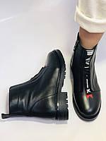 Evromoda Турция зимние ботинки на натуральном меху из натуральной кожи.  Р 37.38.40., фото 8