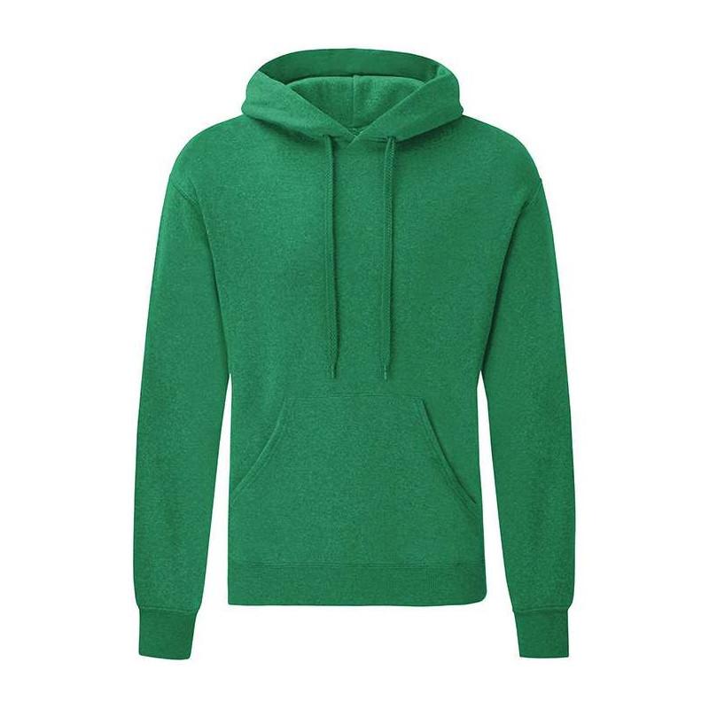 Кенгурушка молодіжна чоловіча однотонна зелений колір меланж