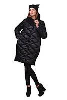 Модная женская зимняя куртка-пуховик