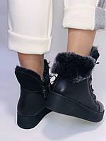 Mario Muzi. Турецкие зимние ботинки на натуральном меху из натуральной кожи,  Р.36.37.38., фото 10