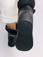 Mario Muzi. Турецкие зимние ботинки на натуральном меху из натуральной кожи,  Р.36.37.38., фото 9