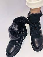 Mario Muzi. Турецкие зимние ботинки на натуральном меху из натуральной кожи,  Р.36.37.38., фото 8