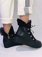 Mario Muzi. Турецкие зимние ботинки на натуральном меху из натуральной кожи,  Р.36.37.38., фото 5