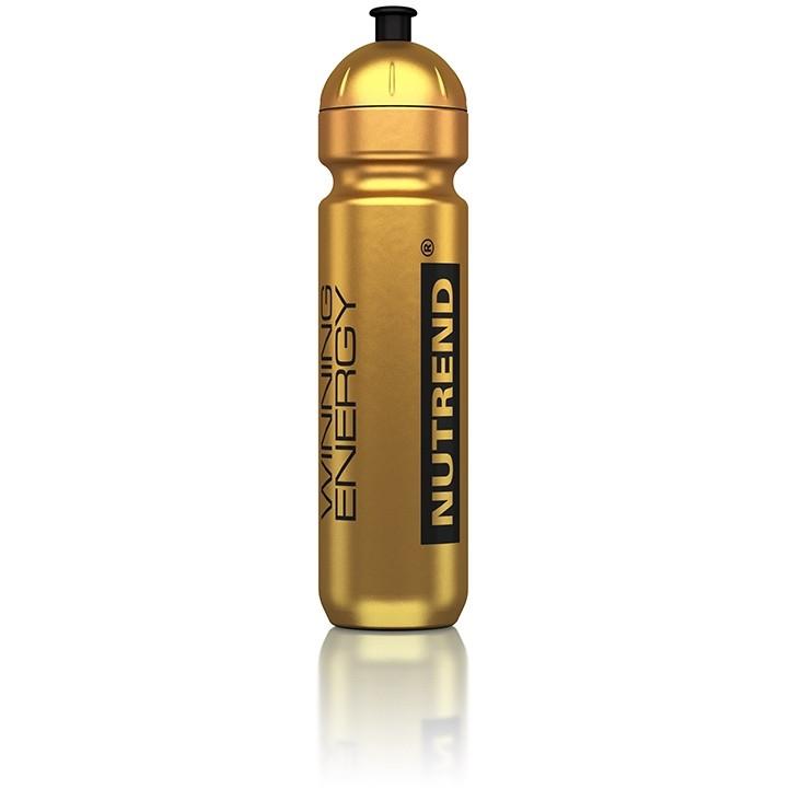 Спортивная бутылка Nutrend золотой металлик 1000 ml