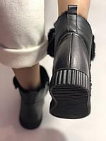 Erisses. Зимние ботинки на натуральном меху на низкой  подошве, Р.37-39, фото 8