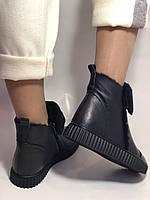 Erisses. Зимние ботинки на натуральном меху на низкой  подошве, Р.37-39, фото 6