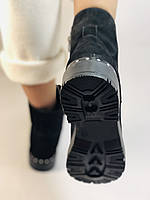 Mario Muzi.Туреччина натуральне хутро, нубук. Зимові черевики Р. 38,40., фото 9