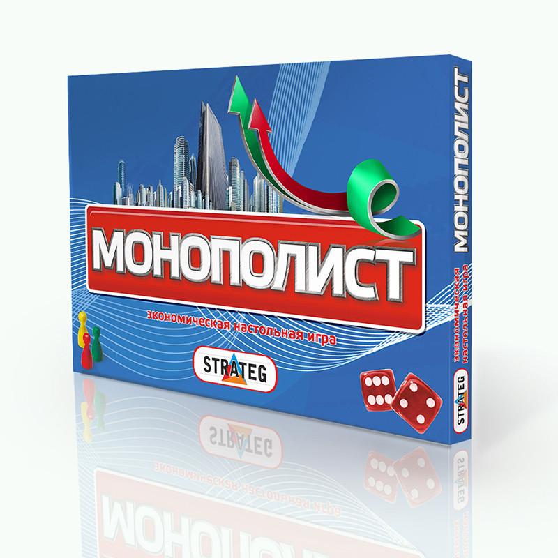 "Игра  (рус.) Стратег, ""Монополист"", в кор-ке 37-25,5-2см 348"