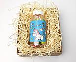 """Конфеты в баночке для исполнения желаний """"Для сладких грез"""" (на укр) в праздничной крафтовой упаковке, фото 3"""