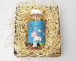 """Конфеты в баночке для исполнения желаний """"Для сладких грез"""" (на укр) в праздничной крафтовой упаковке, фото 4"""