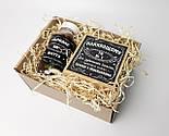 """Подарочный бокс """"Сладкая жизнь настоящего мужчины"""" в стиле """"Джек Дениелс"""": конфеты и печенье с предсказаниями, фото 8"""