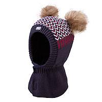 Зимняя шапка-шлем для мальчика TuTu арт. 3-005228(42-46, 46-50), фото 1