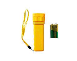 Ультразвуковой отпугиватель собак Aokeman Sensor AD 100 SH Желтый 2408, КОД: 1164294