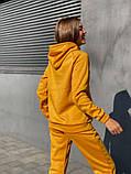 Теплый женский спортивный костюм с капюшоном 13-222, фото 6