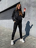 Теплый женский спортивный костюм с капюшоном 13-222, фото 2