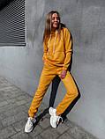 Теплый женский спортивный костюм с капюшоном 13-222, фото 3