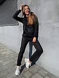 Теплый женский спортивный костюм с капюшоном 13-222, фото 9