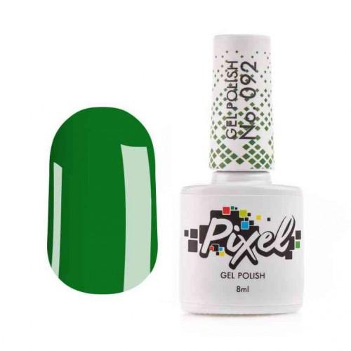Гель-лак Pixel №092 ярко зеленый, 8мл