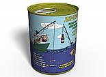 Консервовані Шкарпетки Суворого Рибалки - Подарунок рибалці - Оригінальний Подарунок На День Рибалки, фото 2