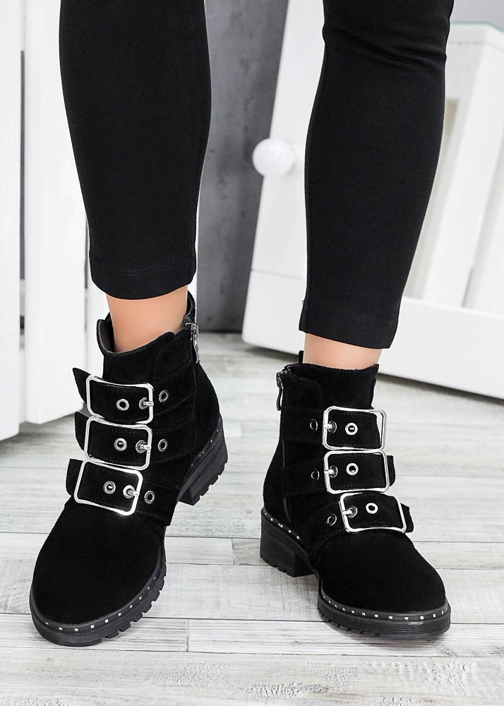 Ботинки замшевые Глория 7529-28