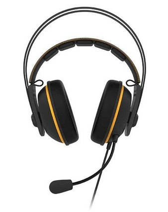 Компьютерная гарнитура ASUS TUF Gaming H7 Yellow (90YH01MY-B8UA00)
