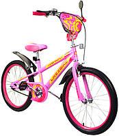 """Велосипед двухколесный Like2bike Sprint 20"""" (192031) Розовый"""