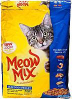 Корм для котов и кошей Мяу Микс морской коктель СИФУД Meow Mix SeaFood 6,44кг