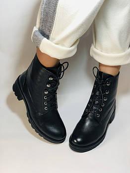 Женские ботинки. Натуральный мех. Натуральная кожа. Люкс качество. Erisses. Р. 37,38.Vellena