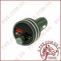 ФМ Модулятор C1 ULTRA FAST (Bluetooth 5.0, DUAL USB 3.0 Charger 2.1A, 12-24V)