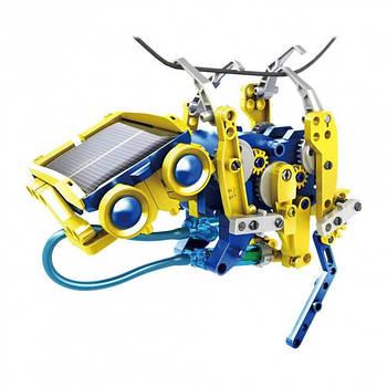 Конструктор робот на солнечных батареях Solar Robot Animals 11 в 1