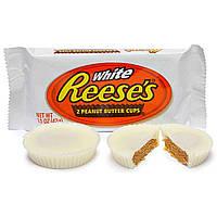Шоколад Reese's White Chocolate Peanut Butter Cups 39g
