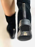 Натуральный мех. Женские зимние ботинки. На платформе. Натуральная замша. Vistally. Р.38, 40., фото 8