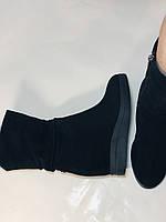 Натуральный мех. Женские зимние ботинки. На платформе. Натуральная замша. Vistally. Р.38, 40., фото 9