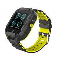 Детские умные GPS часы DF39z 4G с видеозвонками и влагозащитой IP67 Black (SBWDF39ZBL)