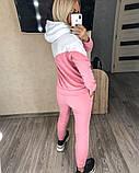 Теплый женский спортивный костюм с капюшоном 35-379, фото 5