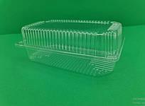 Одноразовый контейнер для продуктов с крышкой SL36  (V1700мл\229*129*80) (50 шт/пач)