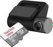 Автомобильный видеорегистратор Xiaomi 70MAI Dash Cam Pro + карта 64GB Sandisk