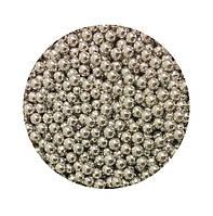 """Посыпка """"Серебряные шарики 7 мм."""", 50 гр., фото 1"""