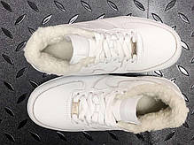 Зимние мужские кроссовки Nike Air Force white с мехом. ТОП Реплика ААА класса., фото 2