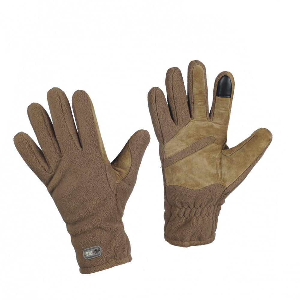 M-Tac рукавички зимові Winter Tactical Windblock 380 Coyote тактичні