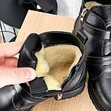 Ботинки женские Dorian черные ЗИМА 2414, фото 2