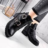 Ботинки женские Dorian черные ЗИМА 2414, фото 4