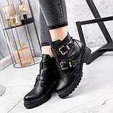 Ботинки женские Dorian черные ЗИМА 2414, фото 8