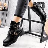 Ботинки женские Dorian черные ЗИМА 2414, фото 6