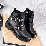 Ботинки женские Dorian черные ЗИМА 2414, фото 9